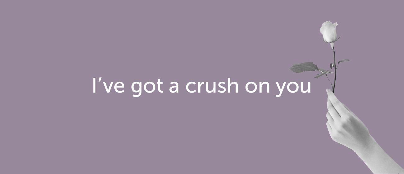 Как признаться в любви на английском — I have a crush on you