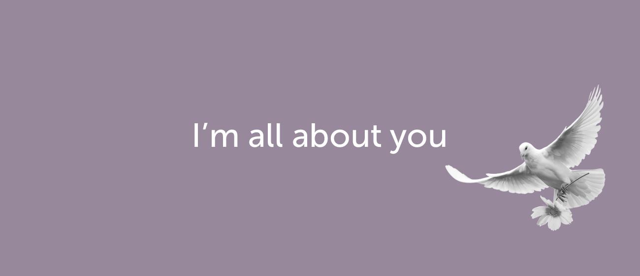 Как признаться в любви на английском — I'm all about you