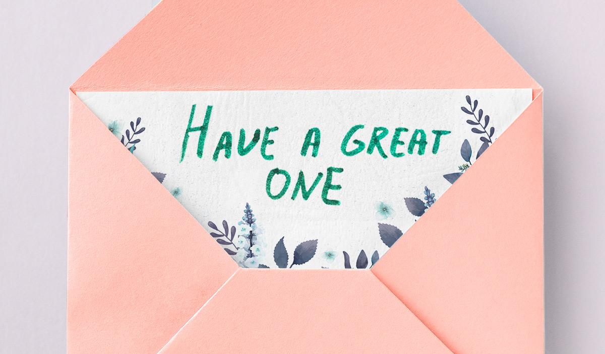 Поздравления на английском — Have a great one