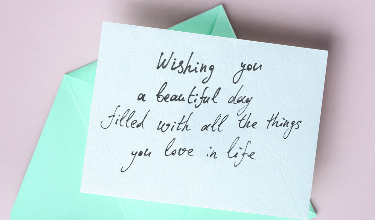 Как поздравить на английском.Wishing you a beautiful day