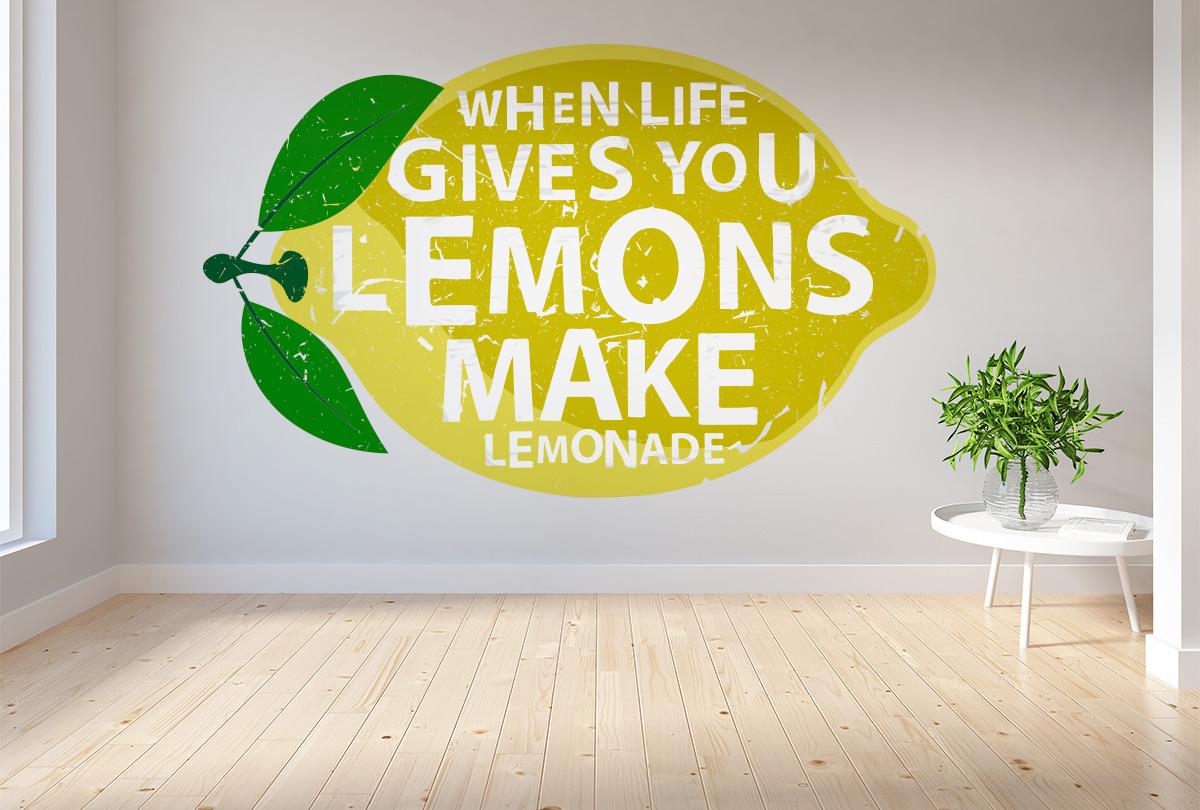 Цитаты на английском. When life gives you lemons, make lemonade