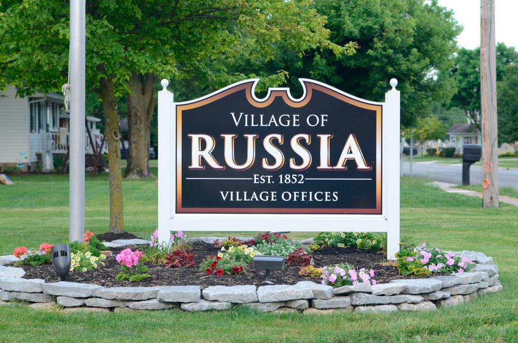 Города в США с русскими названиями. Раша (Руша), штат Огайо
