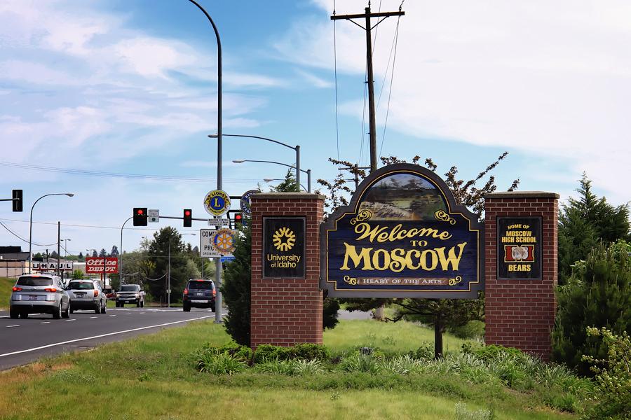 Города в США с русскими названиями. Москоу, штат Айдахо