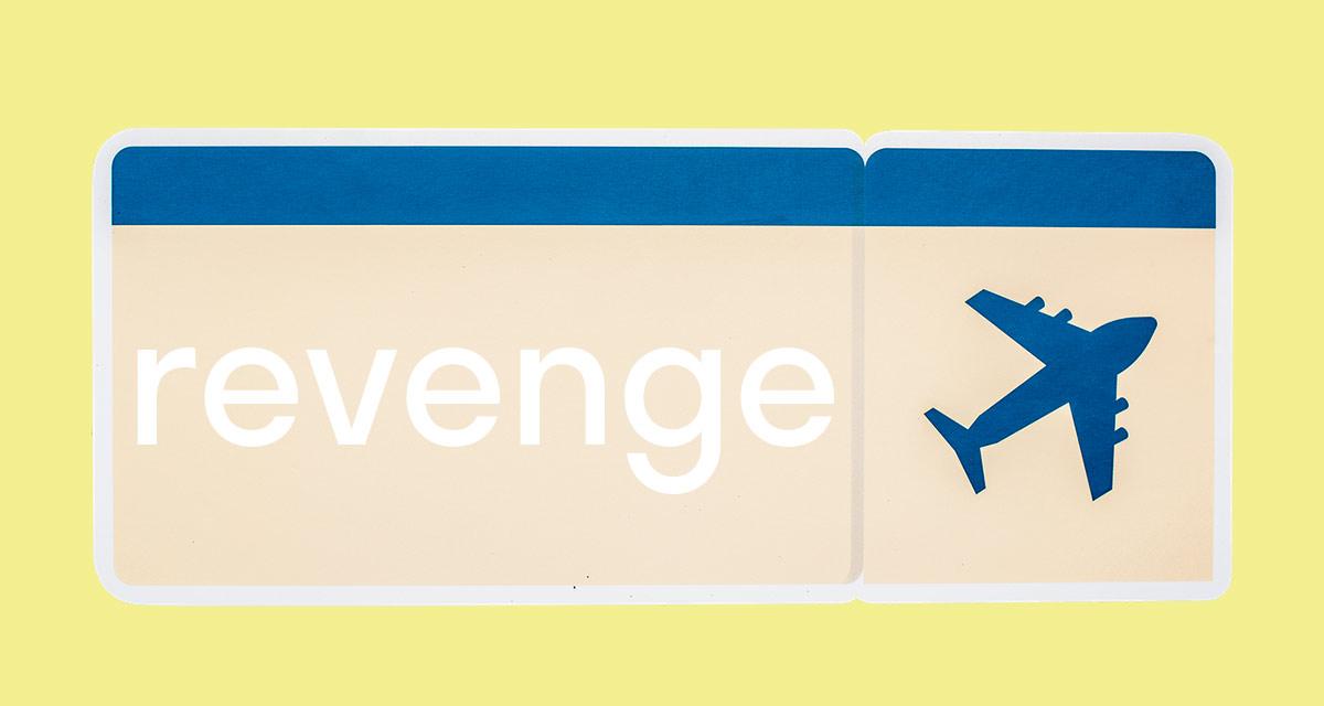 Английские слова про отпуск. Revenge travel